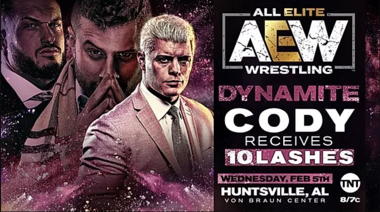 Cody will get 10 lashes from MJF on tonight