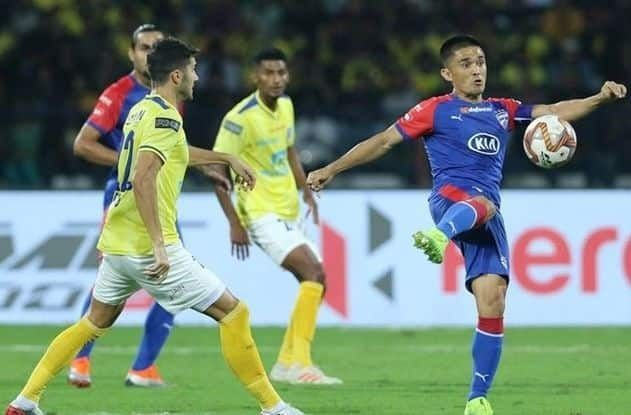 Kerala Blasters have never managed to win against Bengaluru FC.