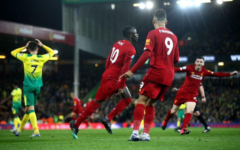 Liverpool enjoyed the victory against Norwich