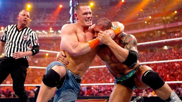 Cena defeated Batista at WrestleMania 26 to win the WWE Championship