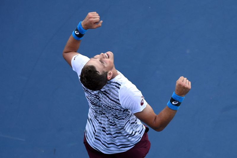 An injury-ridden season saw Vasek Pospisil fall out of the top 100 in the world rankings.