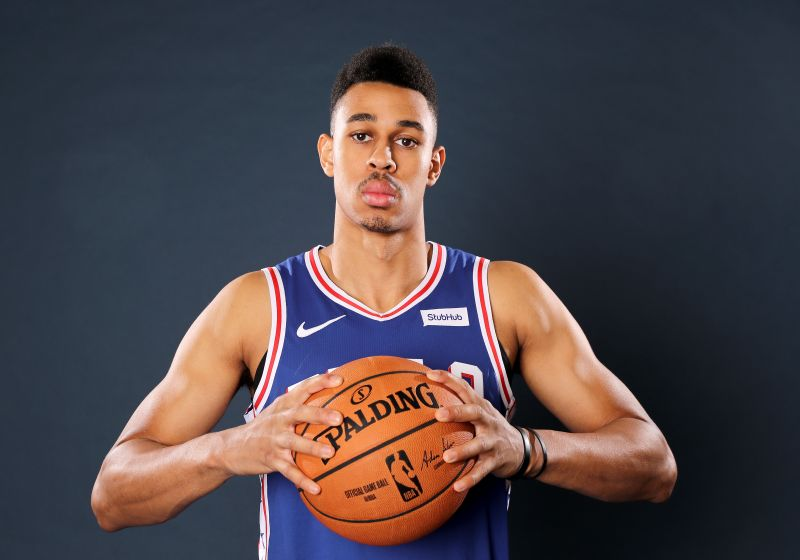 Zhaire Smith has struggled for opportunities since joining the Sixers