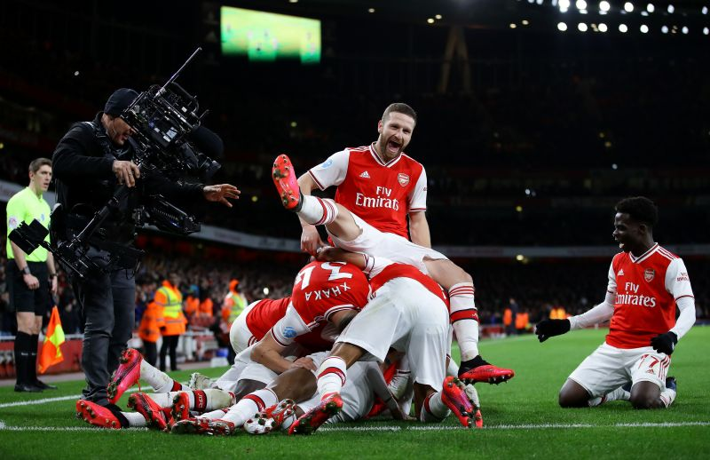 Arsenal made easy work of Newcastle United in their first game after the winter break