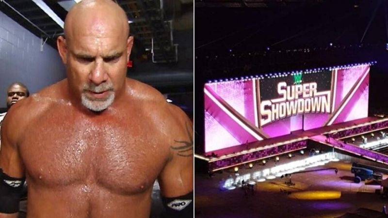 Who could Goldberg face at WWE Super Showdown later this month?