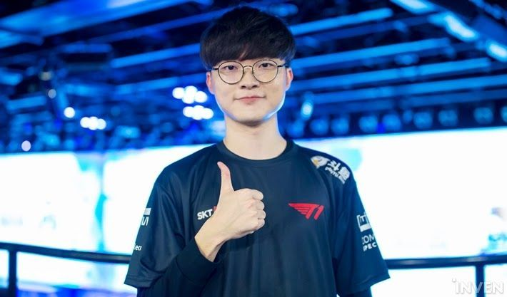 Faker and his gang looked much better today than they did last week