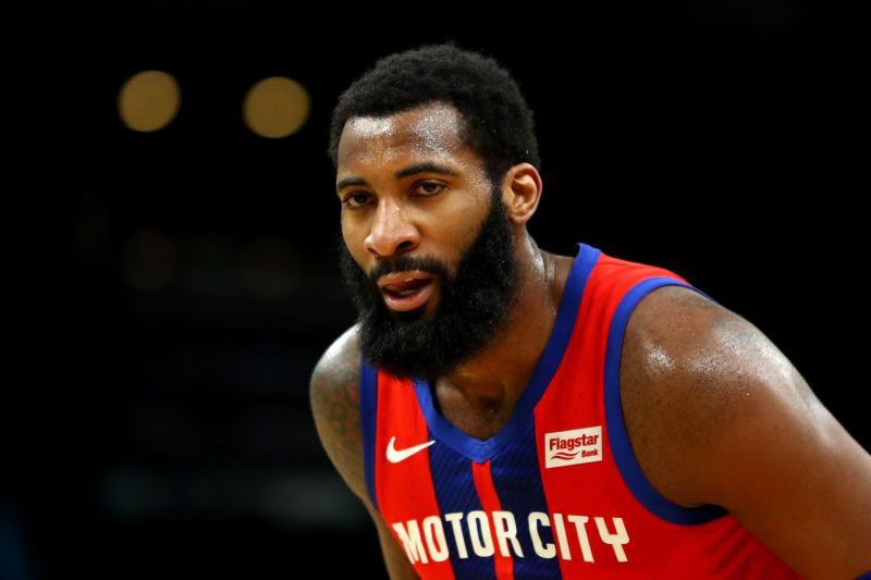 The Pistons traded Andre Drummond for Brandon Knight, John Henson, and a 2023 second-round pick.