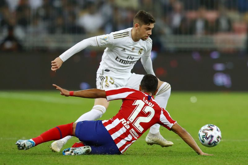 Federico Valverde was tenacious in the middle