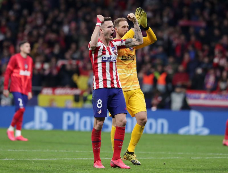 Saul Niguez scored the match-winner against Liverpool in the Champions League Round of 16 first leg