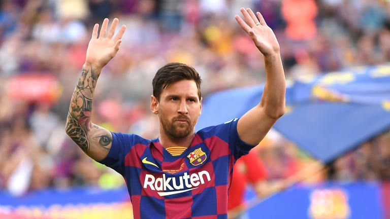 Messi has been blighted by injuries but he is still the top scorer in La liga