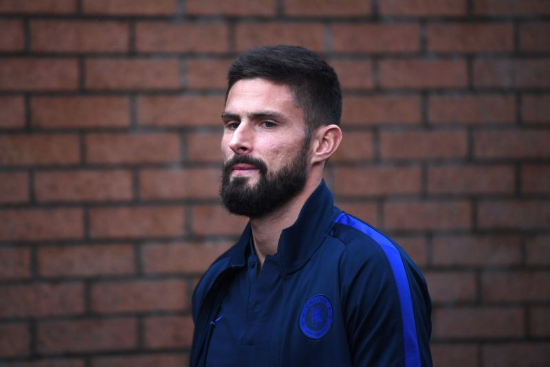 Olivier Giroud was set for a move away from Chelsea  but may now leave the club for free in the summer.
