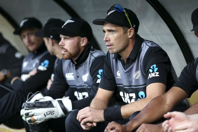 Tim Southee led New Zealand in the final two matches