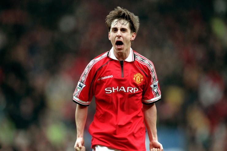 Gary Neville is arguably the Premier League