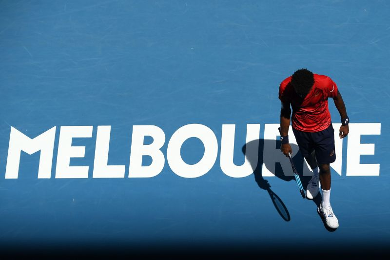 Monfils started strong before losing steam at the Australian Open