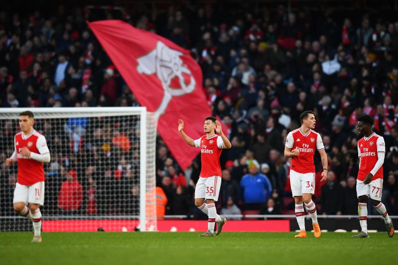 The GunnersThe only way from here for Arsenal is up
