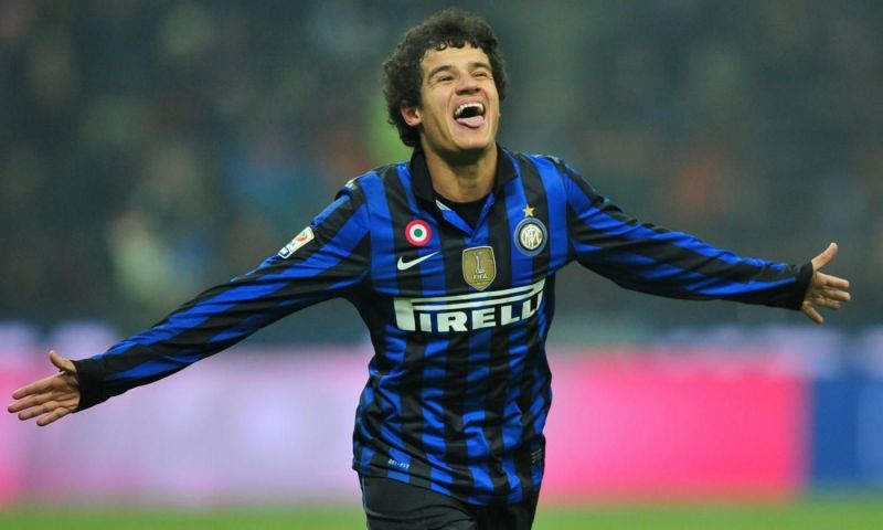 Coutinho was an Inter player for 5 seasons, from where he was loaned off to Vasco and Espanyol