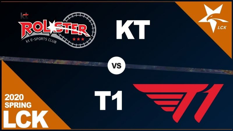 T1 dominated their rivals KT Rolster in today