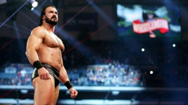 Drew McIntyre has booked in his ticket for WrestleMania