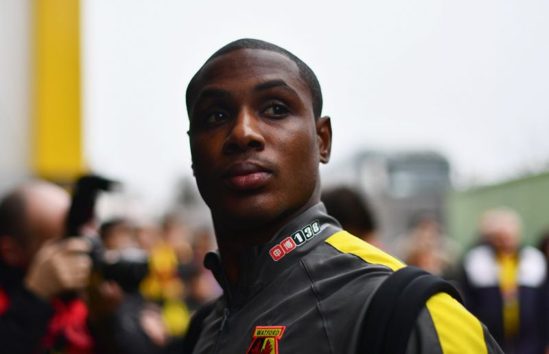 Odion Ighalo played for Watford previously in the Premier League