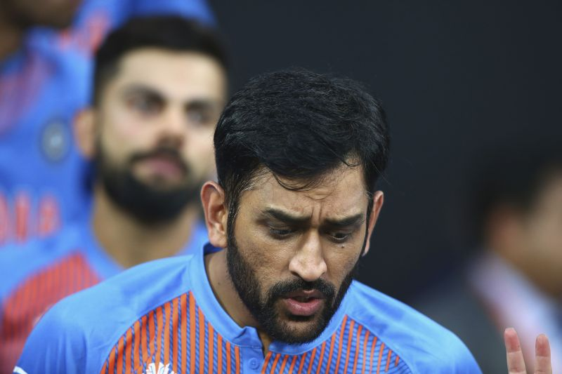 MS Dhoni has not played for India since the 2019 CWC.