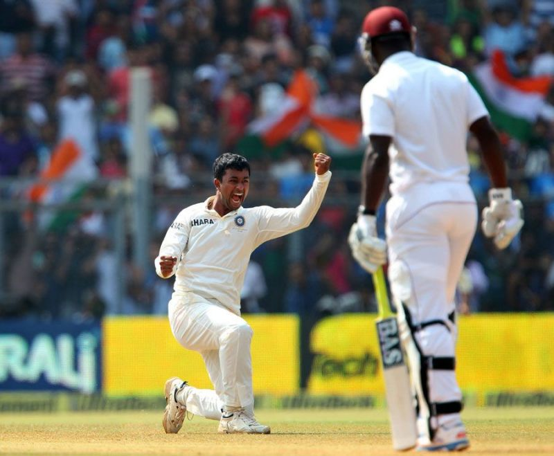 Pragyan Ojha won the Man of the Match award in Sachin Tendulkar