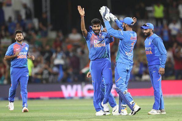 भारतीय टीम ने 5-0 से जीती सीरीज