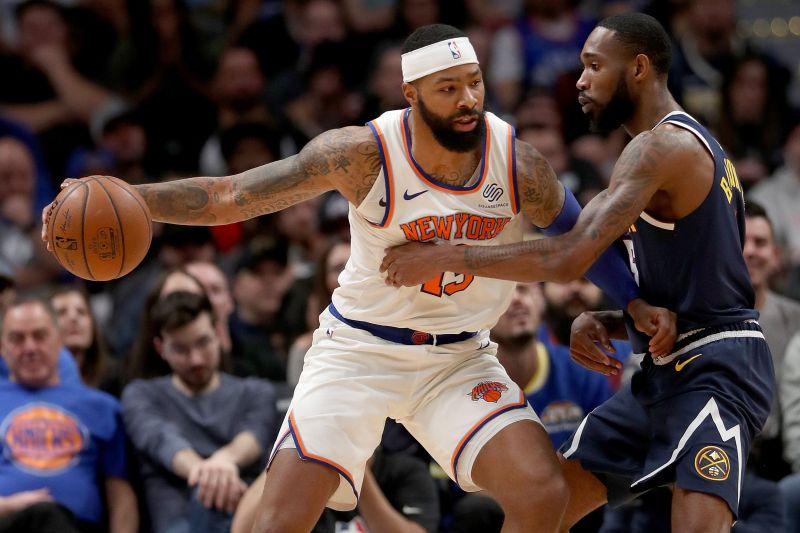 Forward Marcus Morris has been the New York Knicks