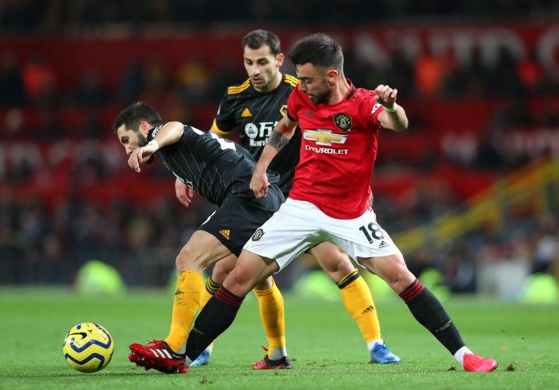 Bruno Fernandes put in a stellar shift against Wolves