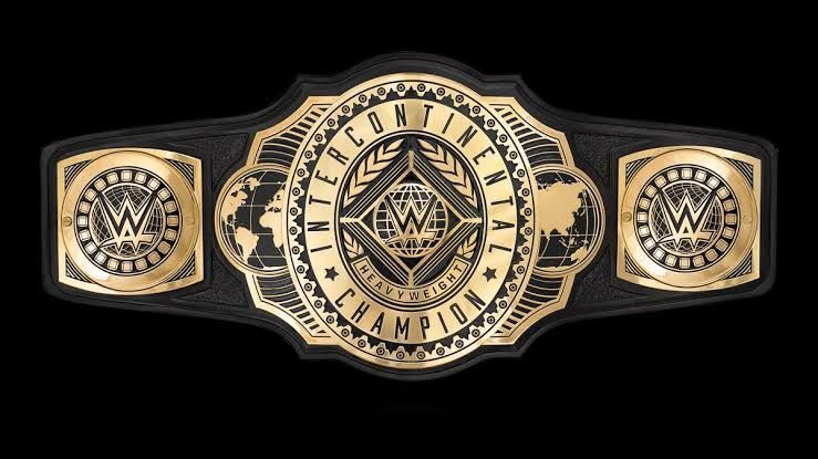 The WWE Intercontinental title
