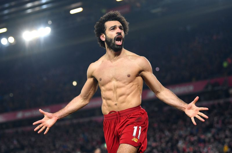 Mohamed Salah is currently battling to win his third consecutive Premier League Golden Boot award