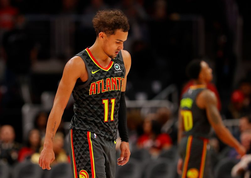 Trae Young represented Team Giannis in the All-Star Game