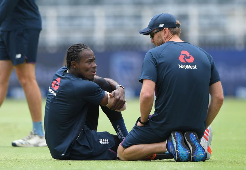 Jofra Archer suffered from a low-grade stress fracture in his elbow which will keep him sidelined for a while