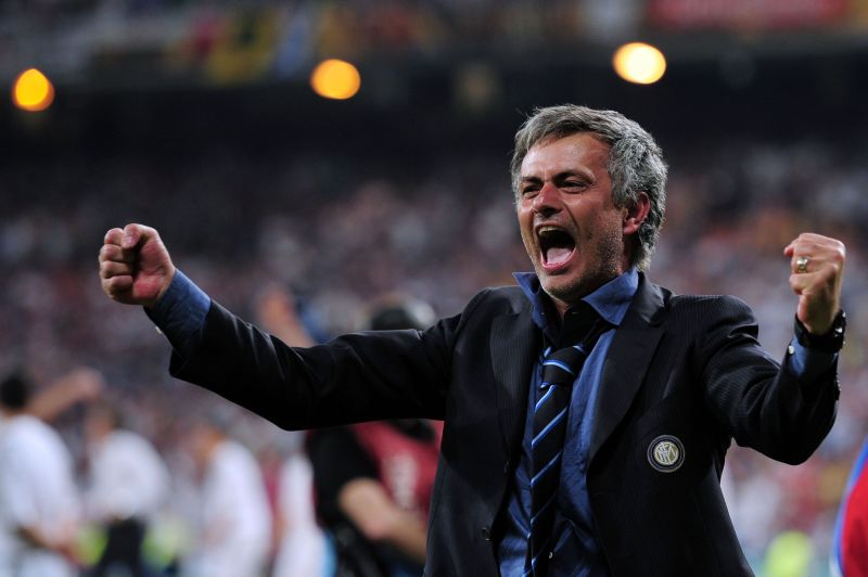 Current Tottenham boss Jose Mourinho has won the Champions League on two occasions