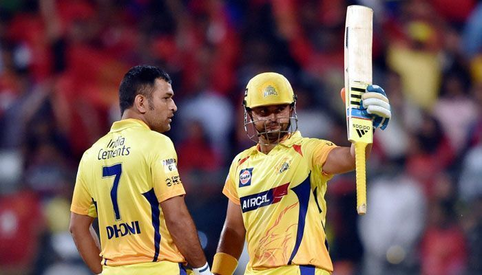Raina believes that CSK are lucky to have Dhoni