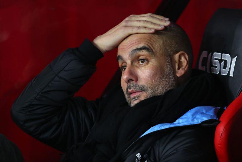 City manager Pep Guardiola