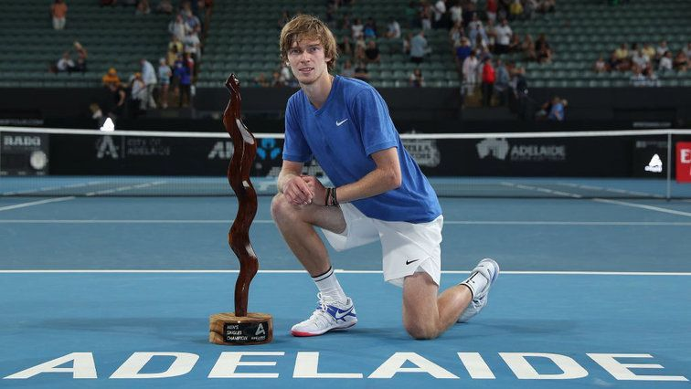 Andrei Rublev won te titles in Doha and Adelaide
