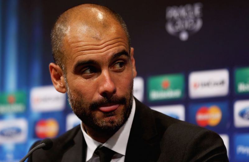 The UEFA Champions League trophy eluded Guardiola at Bayern Munich