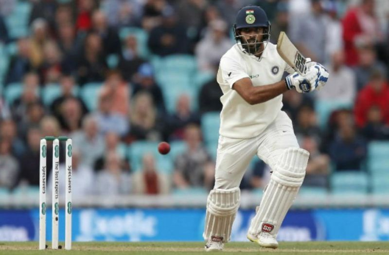 Vihari hit a hundred in the practice game against New Zealand XI