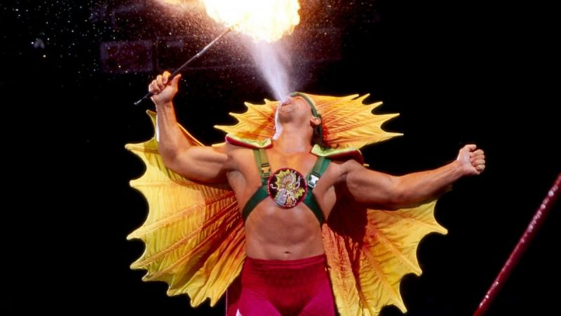 Ricky Steamboat was a great wrestler in WWF, but never won the main title