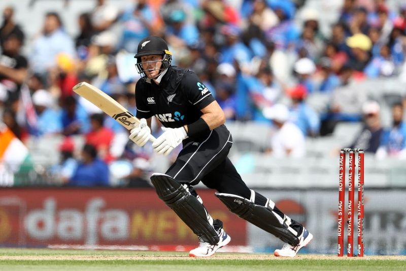 Martin Guptill scored the most runs in the second ODI