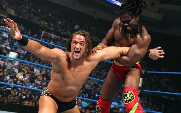 Drew McIntyre took the Intercontinental Championship from Kingston right after he won it