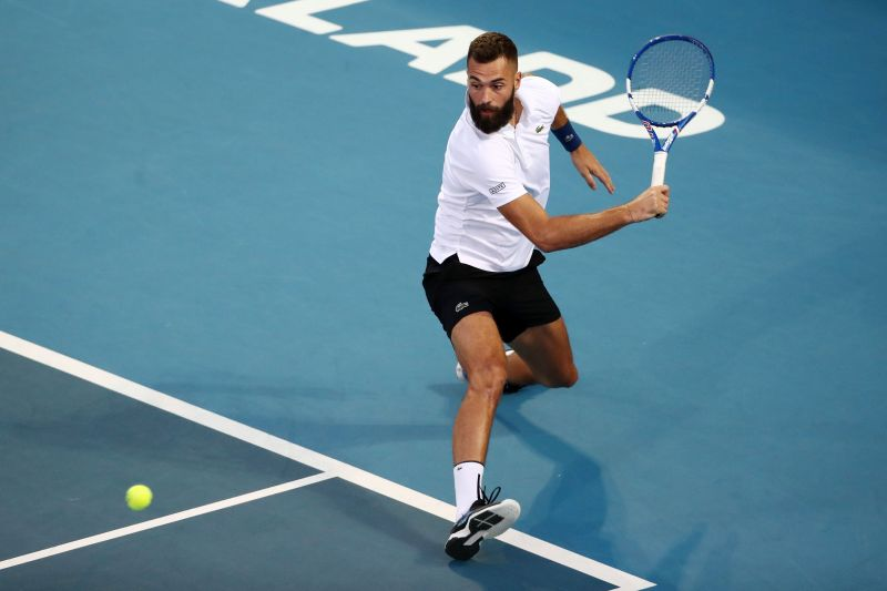 Benoit Paire is the top seed in the draw.