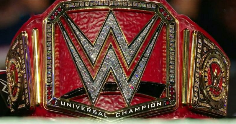 The old design of the Universal Championship.