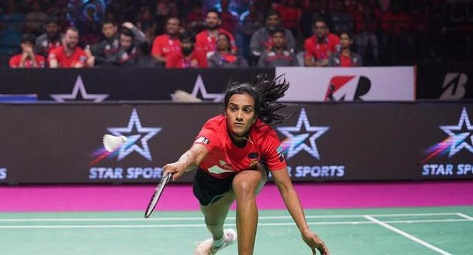 Will PV Sindhu inspire Hyderabad Hunters to their second win of the season? (Image Credits - PBL)