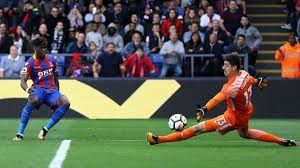 Zaha scored the decisive goal against Chelsea