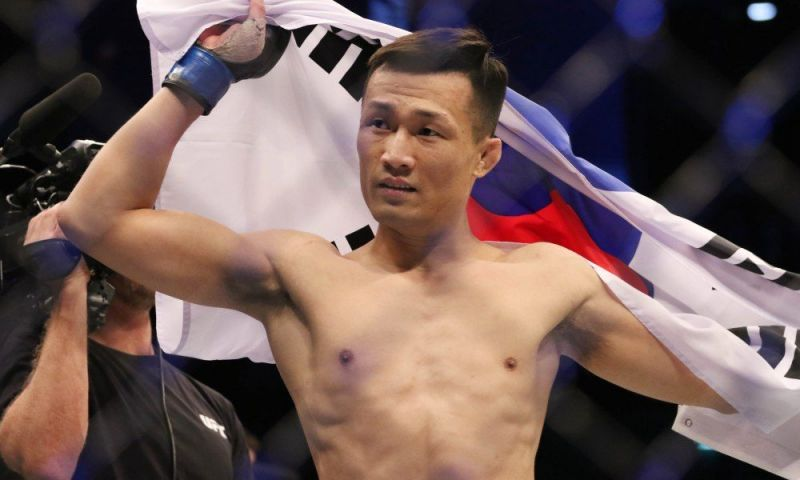 Chan Sung Jung (Image Courtesy: MMA Junkie)