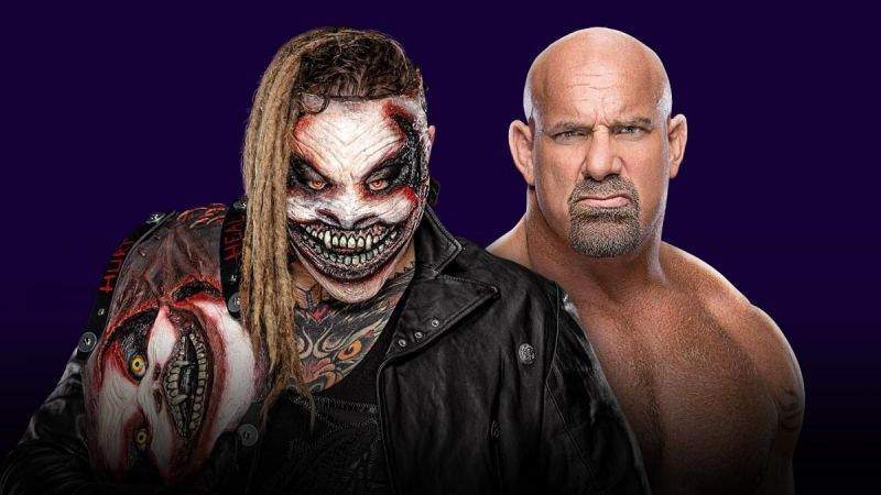 The Fiend Bray Wyatt vs Goldberg