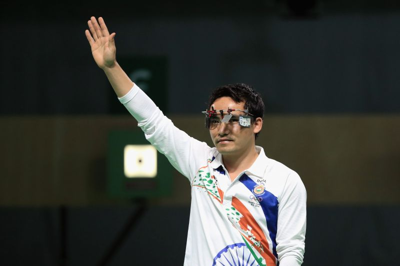Jitu Rai, in his career, has been world no.1 in the 10m pistol discipline