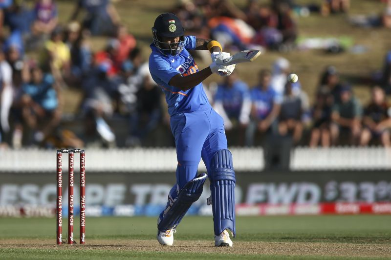 Rahul played an explosive 88-run knock against New Zealand in the first ODI today