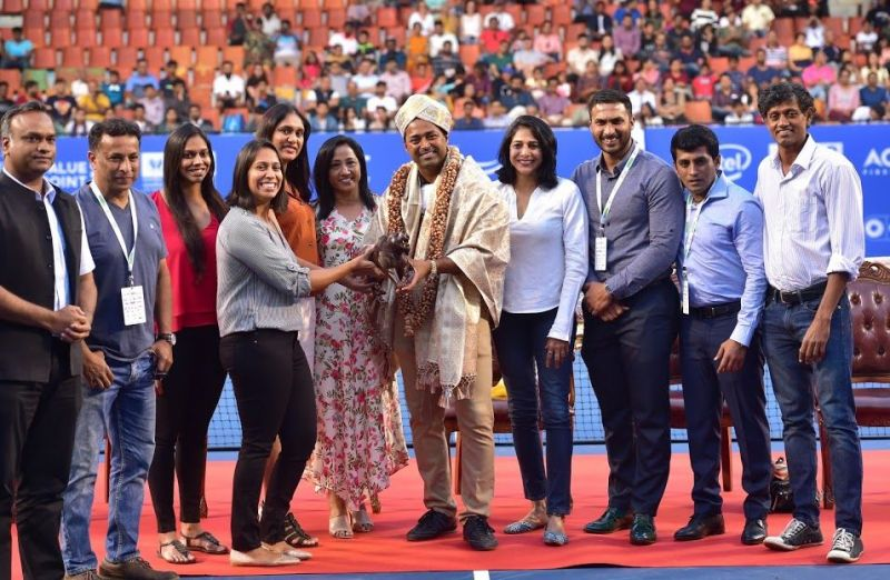 Emotional farewell to Paes at KSLTA