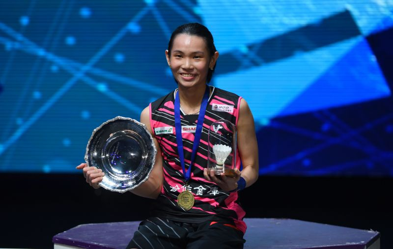 All eyes will be on Tai Tzu-ying at the Tokyo Olympics